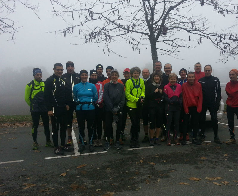 Reconnaissance Trail du Loup Blanc 17/11/2013